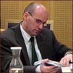 Advokat Geir Lippestad er forsvarer for Ole Nikolai Kvisler. (Foto: NRK)
