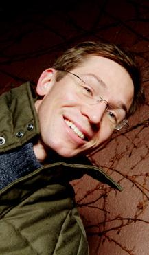 CHRISTOPHER GRØNDAHL: Oktober er denne forfatterens måned i Radioteatret (Foto: Fredrik Arff)