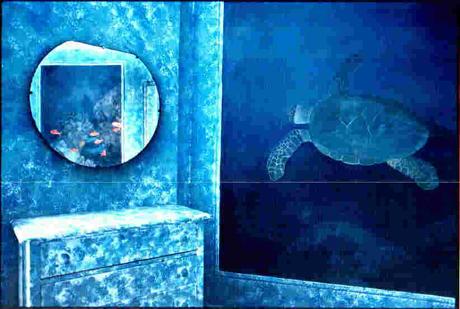 Hva med en overnatting under vann? Foto Carlton Arms Hotel.
