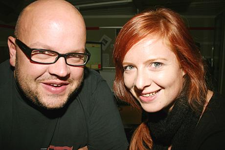 Mandag til torsdag er Siril Heyerdahl og Eirik Kjos på plass med Kveldsåpent i NRK P1. (Foto: Jon-Annar Fordal)