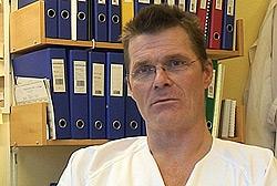 Svenn Urving er leder for intensivavdelingen ved Nordland Sentralsykehus. Foto: Ane Høyem