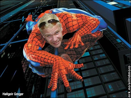 Spider-Peer. (Innsendt av Hallgeir Greger)