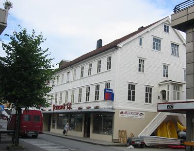 Brunsviks Eftf tok over dette huset i 1918. Foto: Ottar Starheim