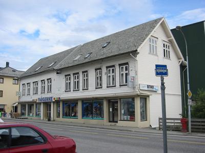 Meieriet heldt til i dette huset første tida. Foto: Ottar Starheim