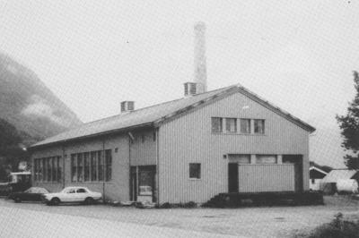 Meieriet på Ålhus ca. 1980