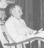Bjarne Hillersøy var mellom dei som vart arresterte av Gestapo. Foto frå Sogeskrift for Askvoll kommune