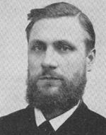 Edvard Liljedahl. Foto frå Målreisingssoga i Sogn og Fjordane