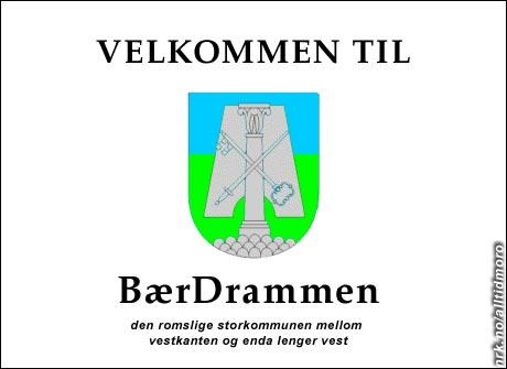 Bærum og Drammen fusjonerer. (Alltid Moro)