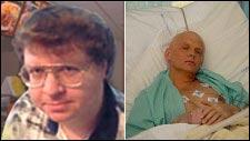 Aanesland (t.v.) er skuffet over å ha fått betydelig mindre medieoppmerksomhet enn Aleksandr Litvinenko. (Foto: Scanpix)