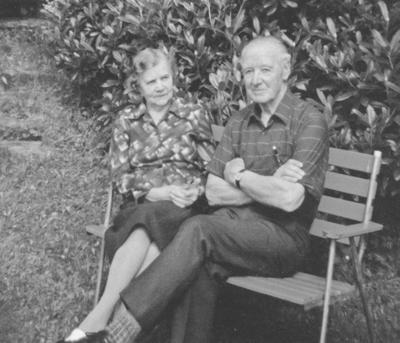 Anna og Peder Sølvberg. Foto utlånt av Solveig Sølvberg