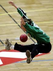 Katrine Lunde har som de andre håndballjentene fått en knallstart i EM. (Foto: Cornelius Poppe/Scanpix)