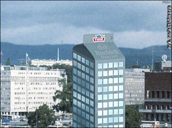 Tines nye hovedkvarter. (Innsendt av Arne K.)