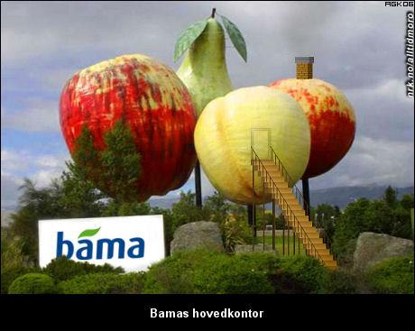 Bamas nye hovedkvarter. (Innsendt av Arne K.)