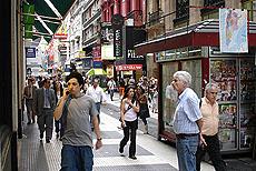 Gatebilde fra Buenos Aires. Foto Arnt Stefansen.