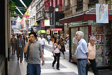 Buenos Aires - en by med sterke europeiske innslag. Foto Arnt Stefansen.