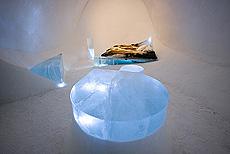 Dette rommet heter Flowing edge og er laget av Michael Jermann, Tyskland. Foto Big Ben.