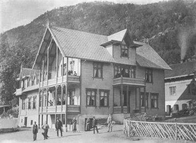 Døsen ca. 1900. Foto: Johan Rumohr Døsen