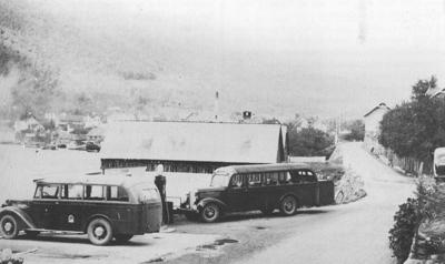 Sogn Billag på Grøt i Sogndal ca. 1940. © Fylkesarkivet