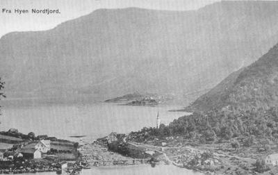 Straume i Hyen ca. 1900. Foto frå Ljøren