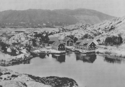 Smørhamn. © Fylkesarkivet