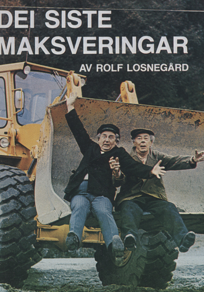 Plakaten for første stykket til Sogn og Fjordane Teater.