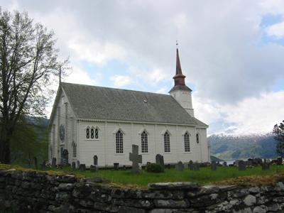 Stårheim kyrkje. Foto: Ottar Starheim