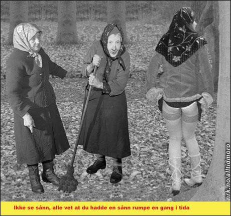 Frognerparken etter innføring av sharia-loven. (Nassim)