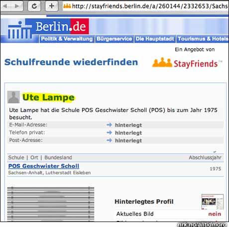 I Tyskland er Ute et kvinnenavn..