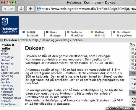 Danskene la sin nye opera til Dokøen.