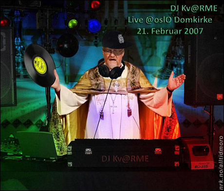 Under gudstjensten i Oslo Domkirke i anledning Kongens 70-årsdag. (Innsendt av Fredrik Thommesen)