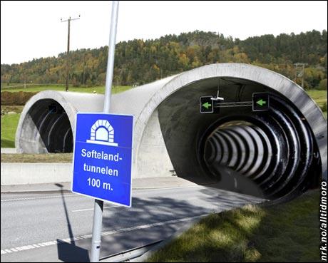 Veidirektør Søfteland avviser kritikken om at enkelte av tunnelene i Vestfold har vært preget av dårlig planlegging. (Alltid Moro)