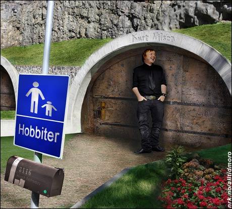 Rekkehus for hobbiter er blitt svært populært den siste tiden. (Innsendt av Eivind Sæter)