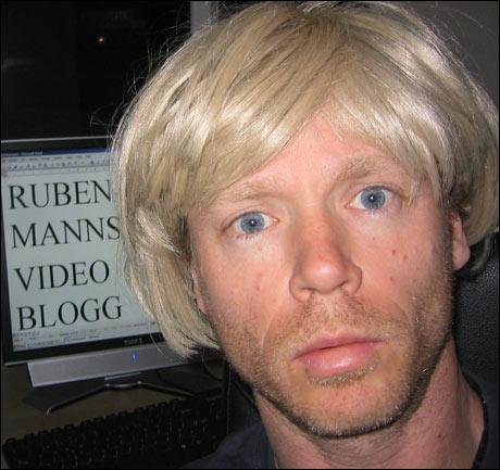- Mange har påpekt at æ og Bertine Zetlitz har lik bobsveis. (Bjørnar Halvorsen) Foto: NRK