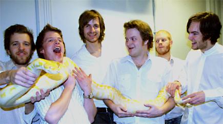 Blokk 5 og slangen, enda et instrument? Foto: Fredrik Jensen.