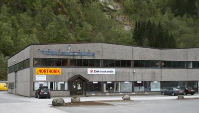 Førde Tekniske Fagskule held til i Drage-bygget på Kronborg. Foto: Kjell Arvid Stølen.
