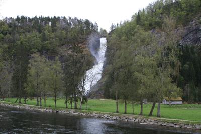Huldefossen. Foto: Ottar Starheim.