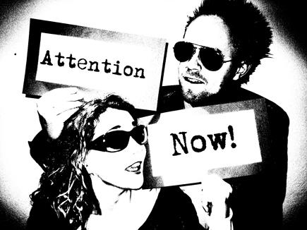 Silje og Stian i Attention Now! Foto/Copyright: Mona Høyland.