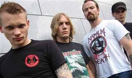 """Bloodtsunami er ute med albumet """"Trash-Metal"""". Foto/Copyright: Blood Tsunami."""