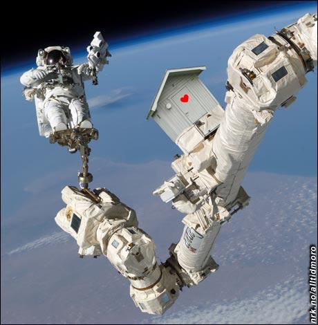 """Utedassens venner"" har medlemmer også i NASA. (Innsendt av Rick Ricken)"