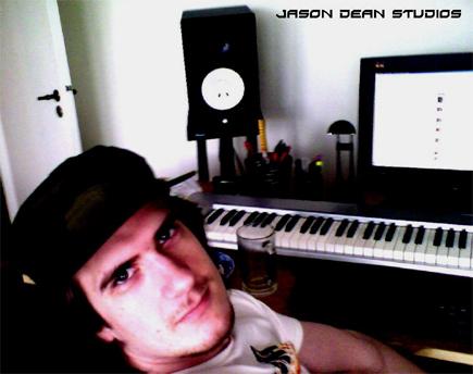 Jason Dean Beats har studio hjemme på Grüneløkka. Foto/Copyright: Jason Dean.