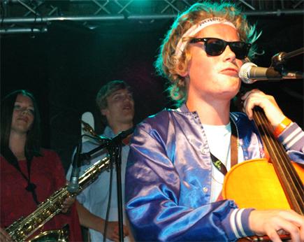Kakkmaddafakka på Storåsfestivalen 2007. Foto: Live Oftedahl.