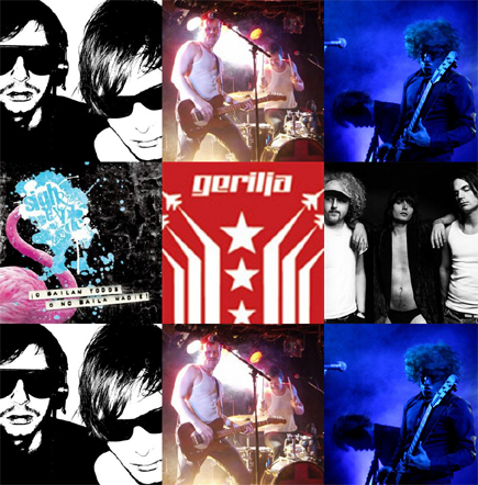 Hvem vinner? Foto/Copyright: Are Eidet, The Shock!, BART, Gerilja, Ella Guru og Sigh & Explode.