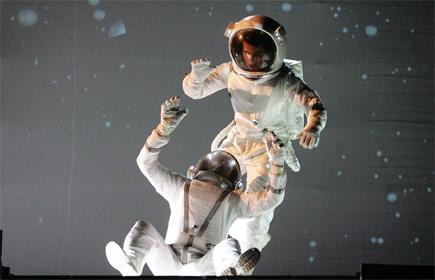 Verdensrommet inspirerer Gerilja og Carl Sagan. Foto/Copyright: Scanpix/AFP