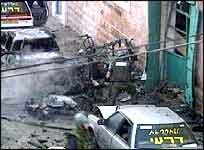 8. februar eksploderte en bilbombe i det samme området.(Foto:APTN)