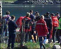 Beheim-Karlsen druknet i Sogndalselva i april 1999 (foto: NRK).