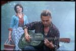 Juliette Binoche og Johnny Depp