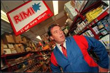 """Stein Erik """"Rimi""""-Hagen har tjent seg rik på matvarer."""