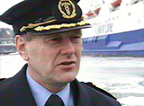 Tolldistriktssjef, Henry Vetås.