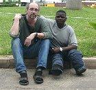 Hassan og Arild i Dar es Salaam