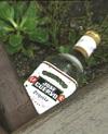 Forgiftet sprit kan være helt over på polflasker